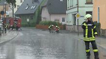 """Brütender Hitze folgen Gewitter: Vielerorts """"Land unter"""" nach Unwettern"""