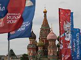 Die russische Hauptstadt Moskau ist bereit für die Fußball-WM.