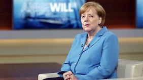 Kämpferische Kanzlerin: Merkel kritisiert Trump scharf