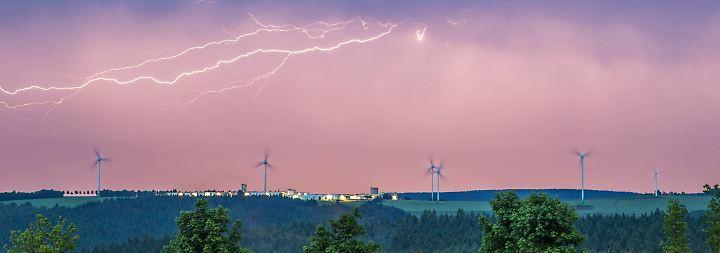 Wolken aus dem Westen: Neue Unwetter ziehen auf