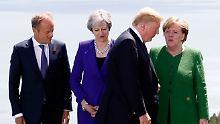 Lehren aus dem G7-Gipfel: Politiker fordern einiges Europa gegen Trump