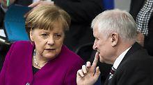 Streitpunkte mit Merkel: Seehofer verschiebt Masterplan Asylpolitik