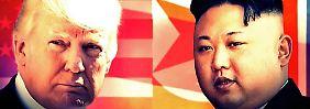 Von Feind zu Freund in wenigen Monaten: Wie sich die USA und Nordkorea näher kamen