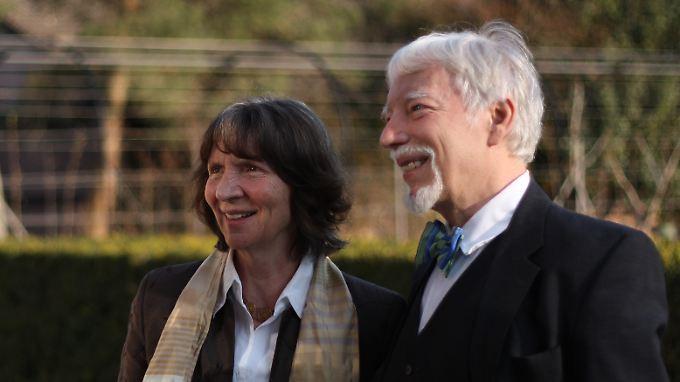 Aleida und Jan Assmann.