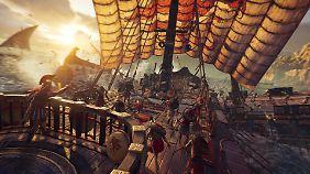 """In """"Assassin's Creed: Odyssey"""" gibt es auch wieder packende Seeschlachten."""