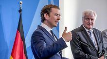 """Schutz der europäischen Grenzen: Kurz setzt auf """"Achse der Willigen"""""""
