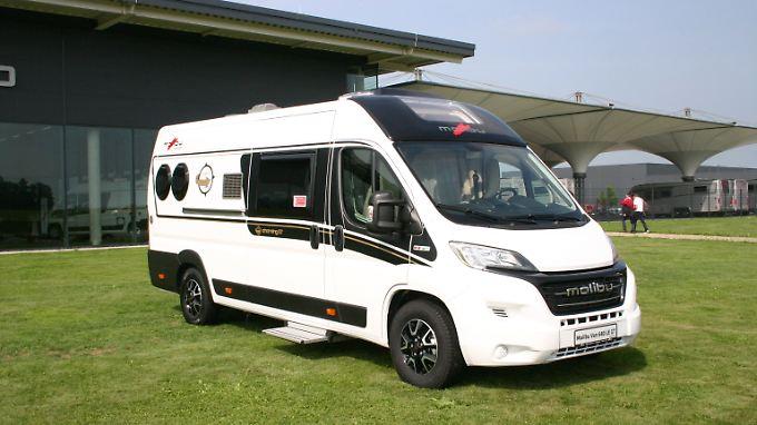 Der Malibu Van Charming GT soll die Vorzüge eines kompakten Komfort-Campingbusses mit dem Raumgefühl eines teil- oder voll integrierten Reisemobils vereinen.