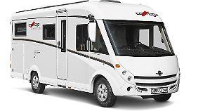 Der neue, auch bei Malibu zum Einsatz kommende Kompakt-Grundriss I141 LE wird auch für den Carthago c-compactline angeboten.