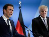 Seehofer trifft Kurz: Vereint in Merkel-Kritik? Nicht ganz