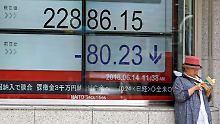 Der Börsen-Tag: Fed-Entscheid bremst Aktienkurse in Tokio