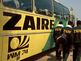 Zaire war im Jahr 1974 das erste Land aus Schwarzafrika, das an einer Fußball-Weltmeisterschaft teilnahm.