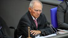 Zerstrittene Union: Schäuble soll's richten