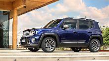 Nach dem Facelift wirkt der Jeep Renegate nicht mehr wie ein Spielzeugauto.