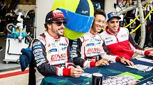 Fernando Alonso hat die volle Aufmerksamkeit beim Rennen von Le Mans.