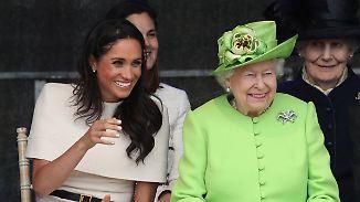 Promi-News des Tages: Queen bewahrt Herzogin Meghan vor Fauxpas