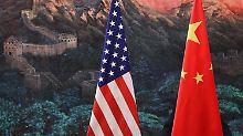 China will noch nicht von einem Handelskrieg sprechen.