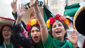 Fan-Vorfreude steigt: Mexikaner gewinnen Stimmungstest vor Deutschlandspiel