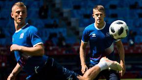 David gegen Goliath an WM-Tag drei: Island will Messis Argentinier stoppen