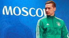 Darf gegen Mexiko von Beginn an ran: DFB-Nationalspieler Julian Draxler.