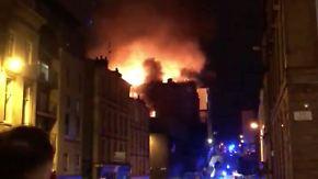Zweiter Großbrand in wenigen Jahren: Feuer zerstört Glasgows historische Kunsthochschule