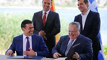 Streit mit Griechenland vorbei: Mazedonien verordnet sich neuen Namen