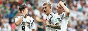 WM-Tag 4 in Bildern: Kolarov zaubert, DFB-Elf patzt, Neymar gefrustet