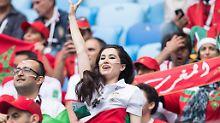 Bartlose Revolution bei WM: Irans Frauen finden die Freiheit in Russland