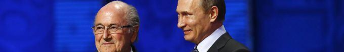 Der Sport-Tag: 21:01 Ex-Fifa-Boss Blatter reist zur WM nach Russland