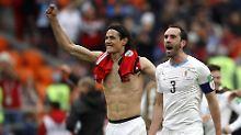Der Sport-Tag: Cavani schwitzt und vor Spanien knallt's