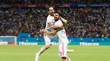 Mühevoller Sieg gegen den Iran: Costas Knie wendet spanische Blamage ab