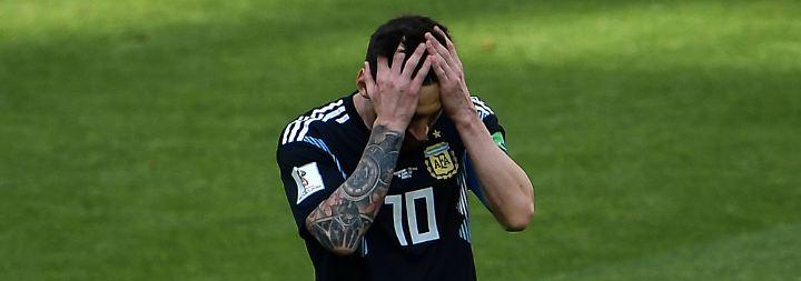 Der WM-Routenplaner bei n-tv.de: Fußlahmer Messi, Grumpy Cat van Marwijk