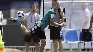 Sotschi, Sonne, Siegermentalität?: DFB-Team genießt den Tapetenwechsel