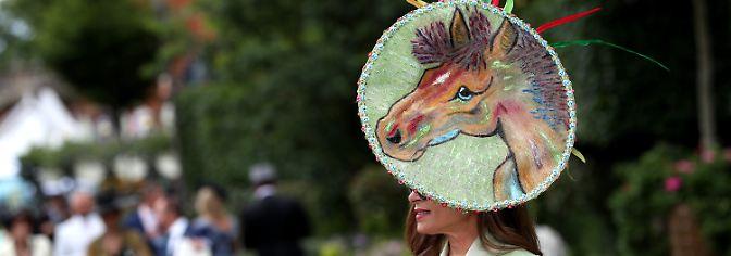 Und welchen Hut trug SIE?: Ascot, der alljährliche Almauftrieb