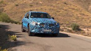 Erstes E-SUV von Mercedes: So schlägt sich der EQC im Hitzetest