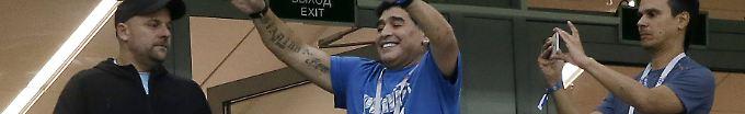 Der Sport-Tag: 21:03 Maradona macht ordentlich Fan-Rabatz für Messi und Co.