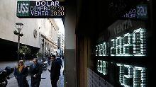 Kampf gegen Inflation: Argentinien erhält erste IWF-Tranche