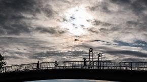 Kein Public-Viewing-Wetter: Sonne zeigt sich nur an der Ostsee und im Süden