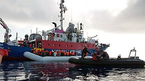 """Europäische Lösung nicht in Sicht: Italiens Innenminister nennt Flüchtlinge """"Menschenfleisch"""""""