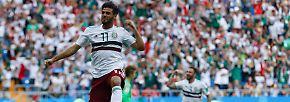 WM-Tag 10 in Bildern: Belgien marschiert im Rausch, DFB-Albtraum Mexiko wirbelt