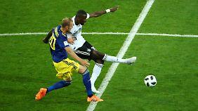Bis auf ein katastrophales Dribbling spielte Antonio Rüdiger solide. Allerdings spielte er auch nur einmal.