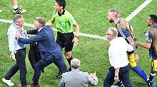 Wegen dieser unnötigen Provokation deutscher Funktionäre gegen die schwedische Bank ermittelt nun die Fifa.