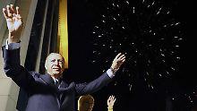 Trotz Unregelmäßigkeiten: Oppositionspartei erkennt Erdogans Sieg an