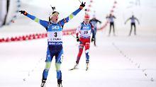 Der Sport-Tag: Biathlon-Topstar Domratschewa beendet ihre Karriere