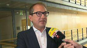 """Dobrindt im Interview: """"Es gibt keine Zuständigkeit von Deutschland für die 'Lifeline'"""""""