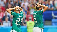 DFB-Team scheidet aus: Löws Rotation trägt keine Früchte