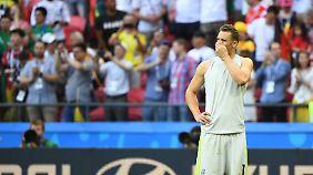An Manuel Neuer lag's nicht. Auch ohne Wettkampfpraxis spielte er ein gutes Turnier.
