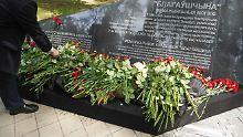 KZ-Gedenkstätte eröffnet: Steinmeier erinnert an Opfer in Weißrussland