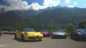 """""""4C meets Giulia & Stelvio"""": Alfa-Romeo-Fieber grassiert in der Schweiz"""