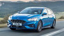 Ab Start ist der neue Ford Focus auch in der sportlich heraus geputzten ST-Line zu haben.