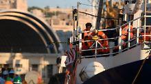 """""""Sea Watch 3"""" festgesetzt: Malta lässt Flüchtlingsschiff nicht auslaufen"""